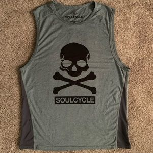 SoulCycle Skull Tank